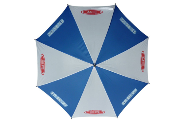 Niestandardowe Logo Instrukcja Open Parasol, Laska Spacerowy Dla Windy Weather