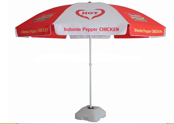 Pepper Promotion Sun Outdoor Garden Parasol Ochrona UV z 210D Oxford Fabric